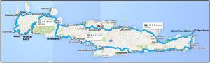 Tragitto Creta